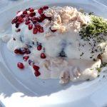 Chiles en nogada gourmet